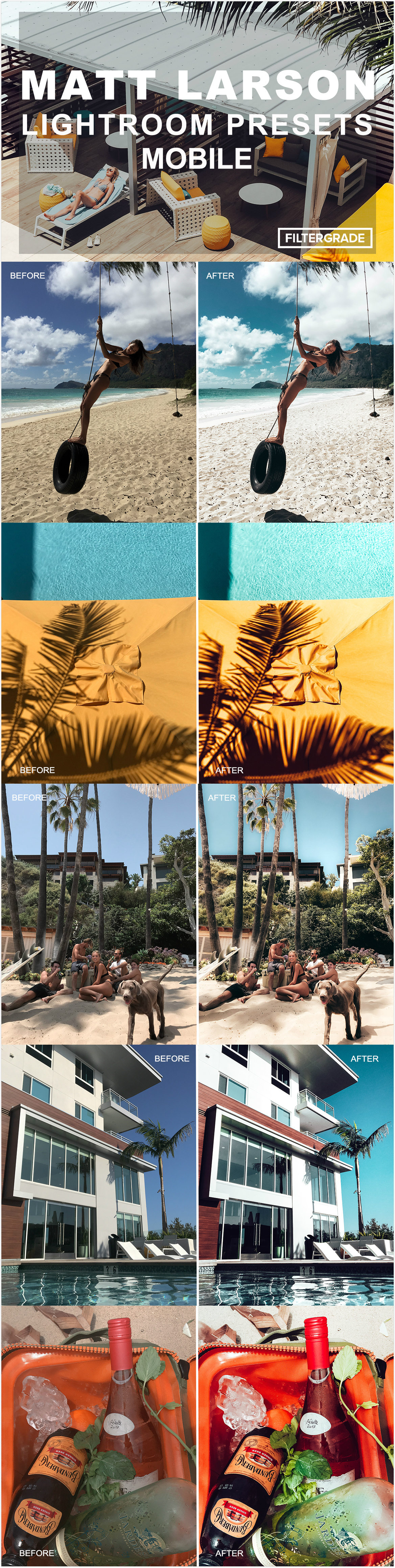 Top 7 Mobile Presets for Travel Photographers - FilterGrade