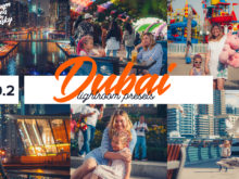 Dubai Lightroom Presets by Zelensky