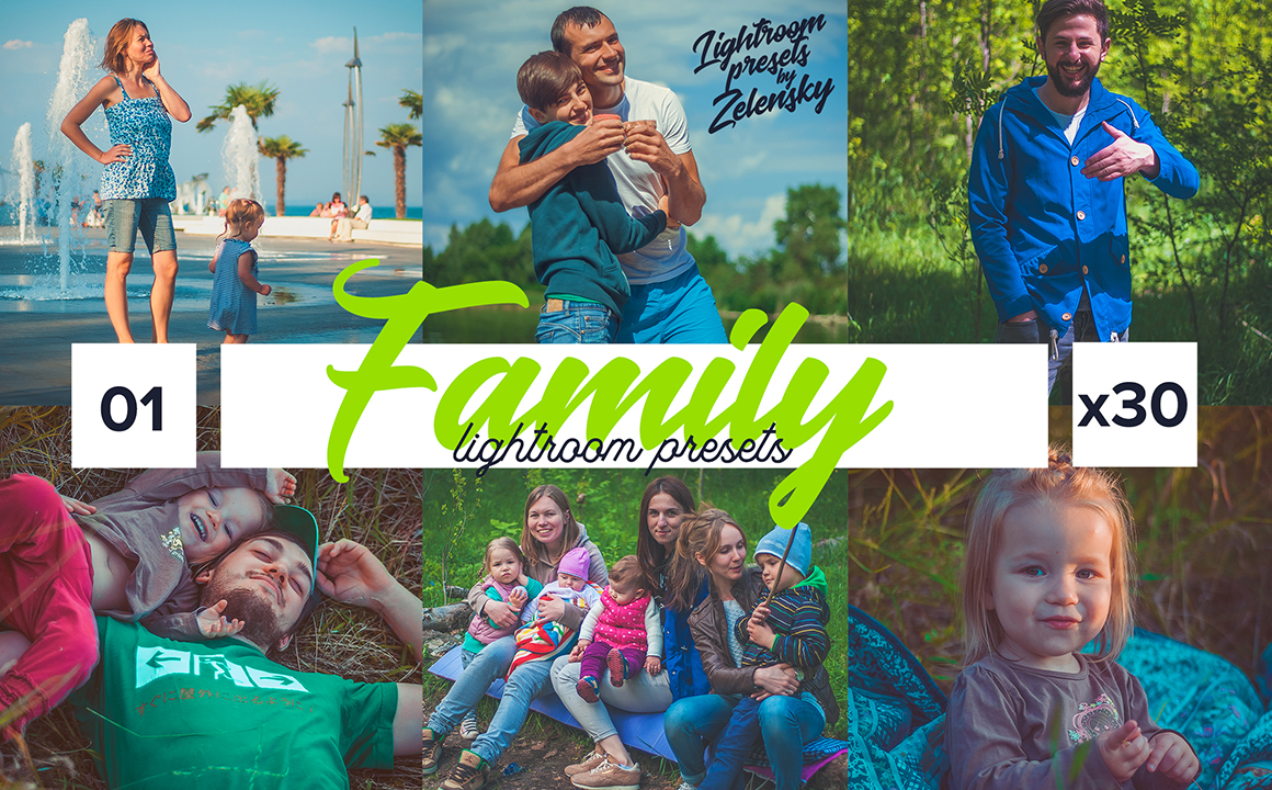 Family Lightroom Presets by Zelensky
