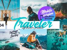 Traveler Mobile Lightroom Presets by Zelensky