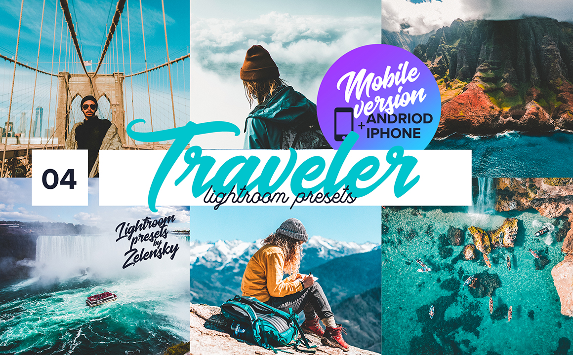 Traveler Mobile Lightroom Presets by Zelensky
