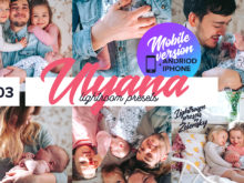 Ulyana Mobile Lightroom Presets by Zelensky