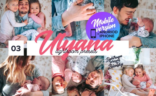 Ulyana Mobile Lightroom Presets by Zelensky