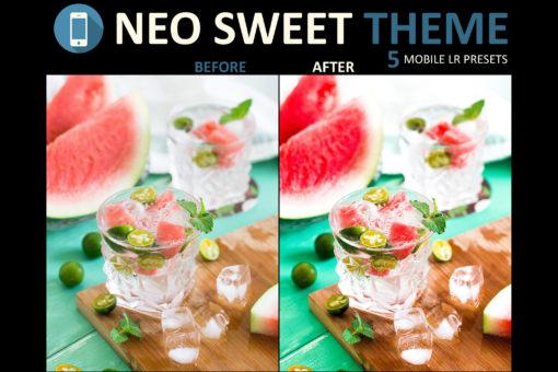 neo sweet beverage mobile preset