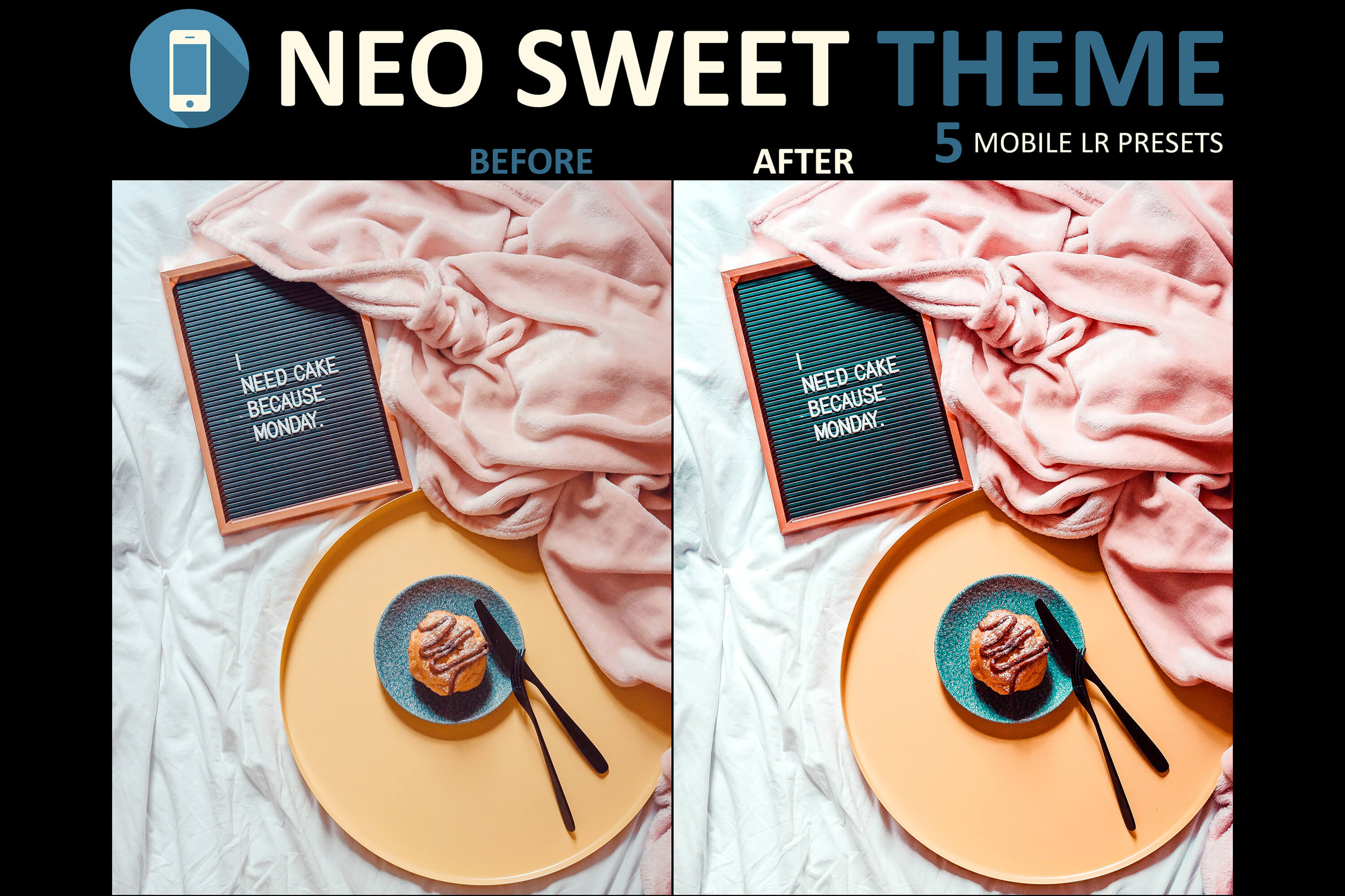 neo sweet theme mobile presets