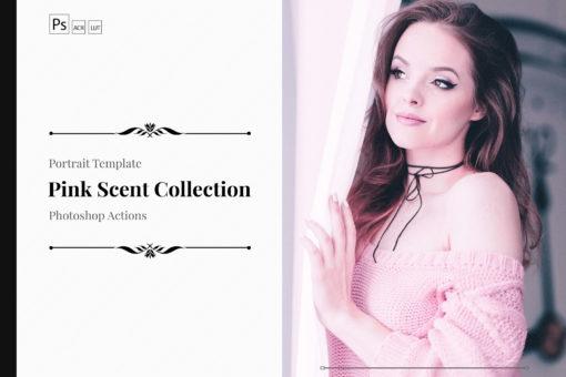 Pink Scent PS Actions & LUTs Bundle