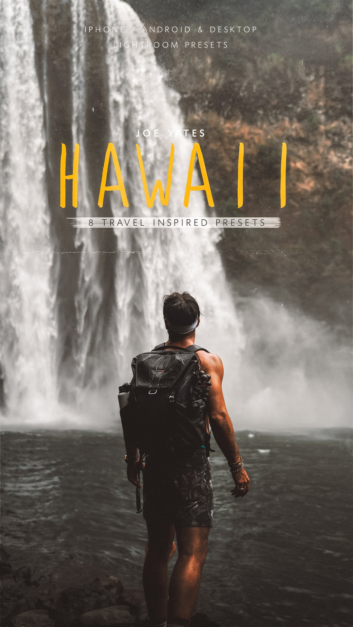 Joe Yates Hawaii Lightroom Presets (Desktop+Mobile)