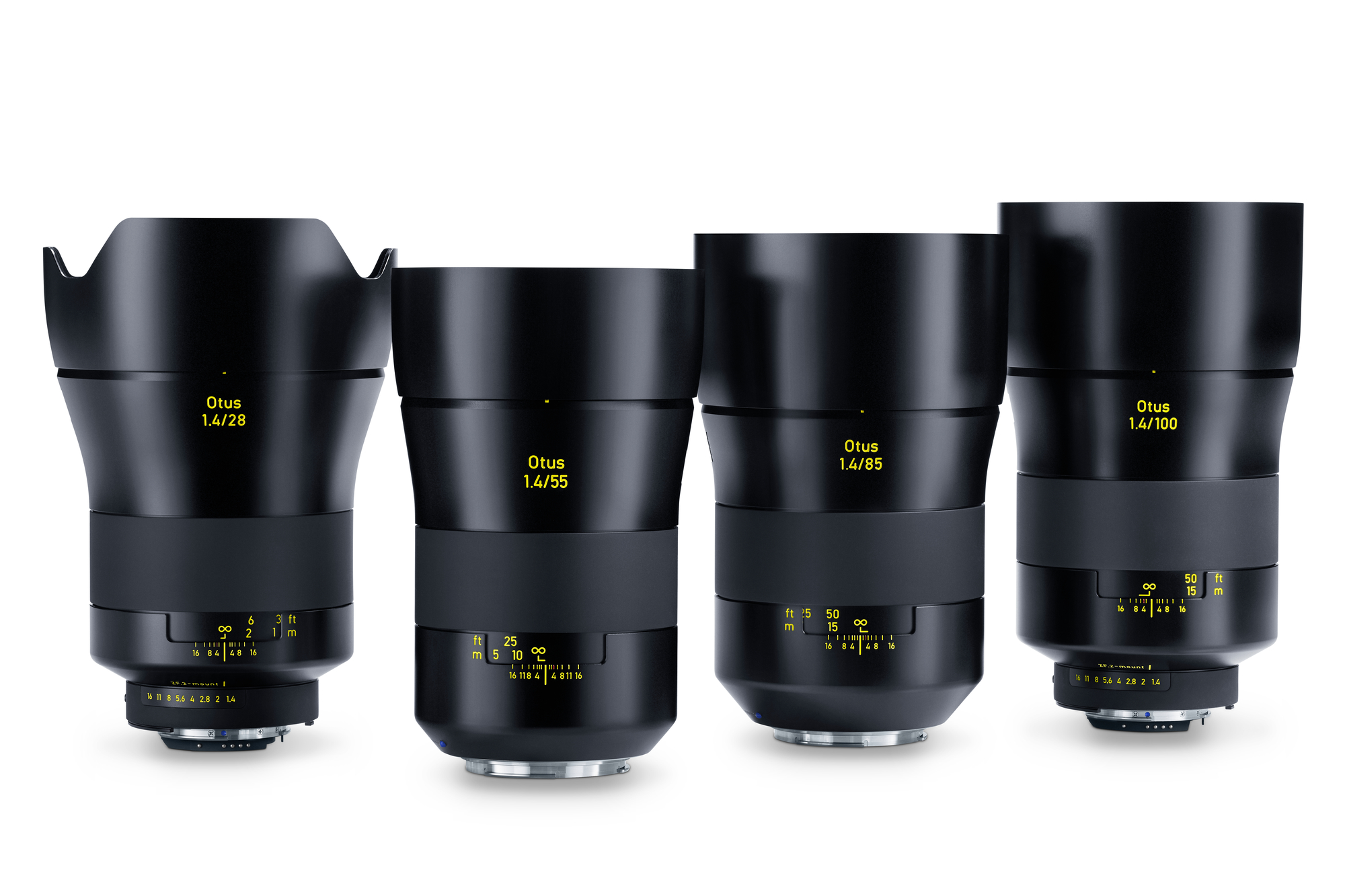 zeiss otus family of lenses
