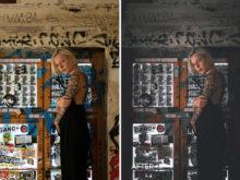 urban grunge portrait presets