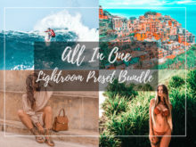 All In One Lightroom Preset Bundle with over 80 Presets for Mobile & Desktop