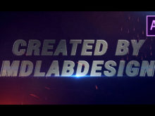 Cinematic Sparks Trailer After Effects Template
