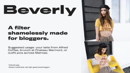 beverly blogger presets