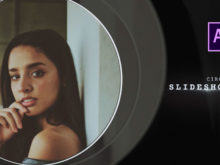 Clean Circles Slideshow After Effects Template