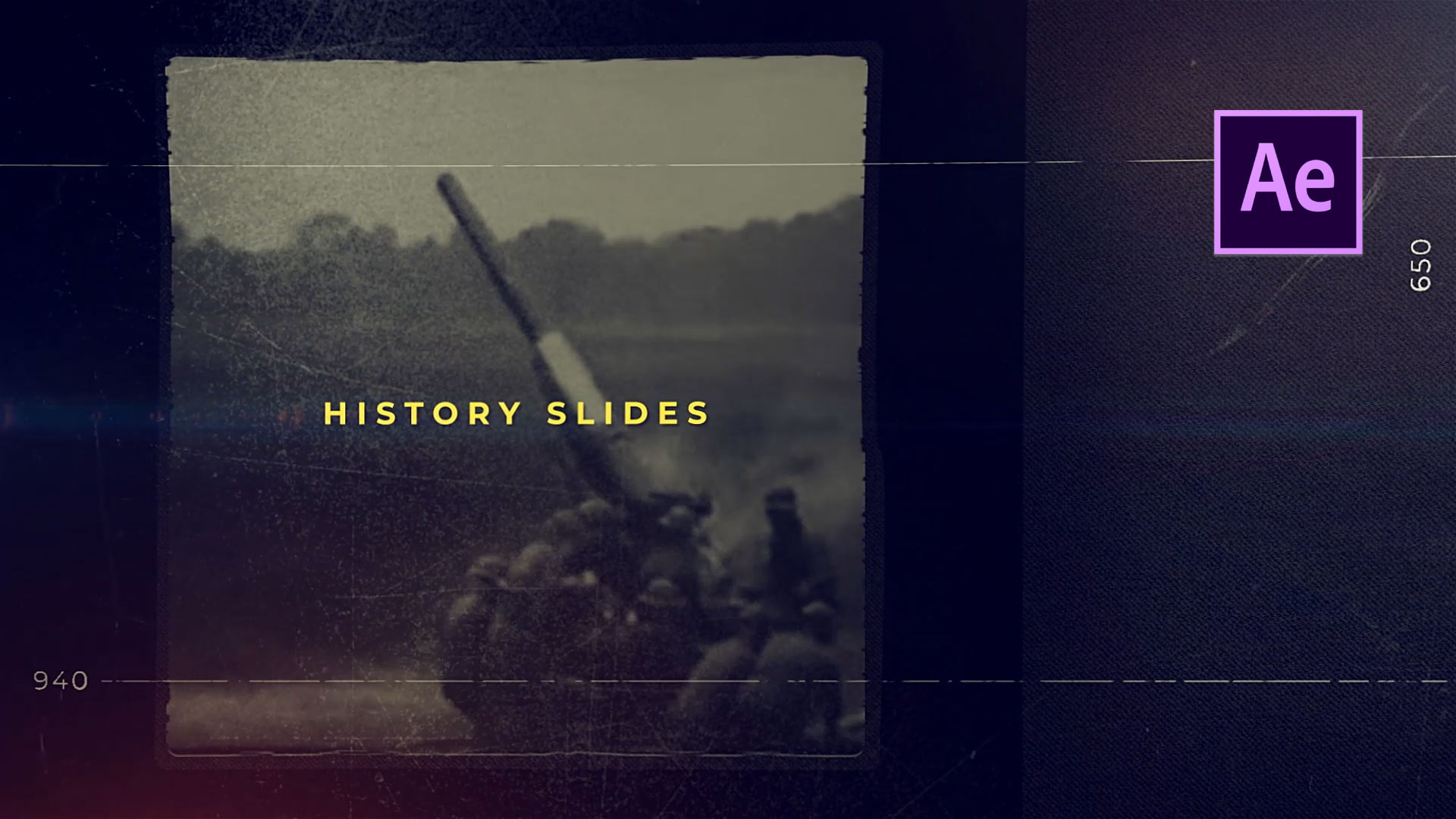 History Trailer After Effects Template