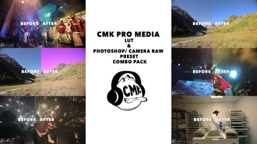 CMK PRO MEDIA LUTs and PS/CAMERA RAW PRESETS (COMBO PACK)