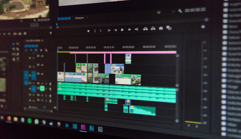 editing timeline in premiere pro