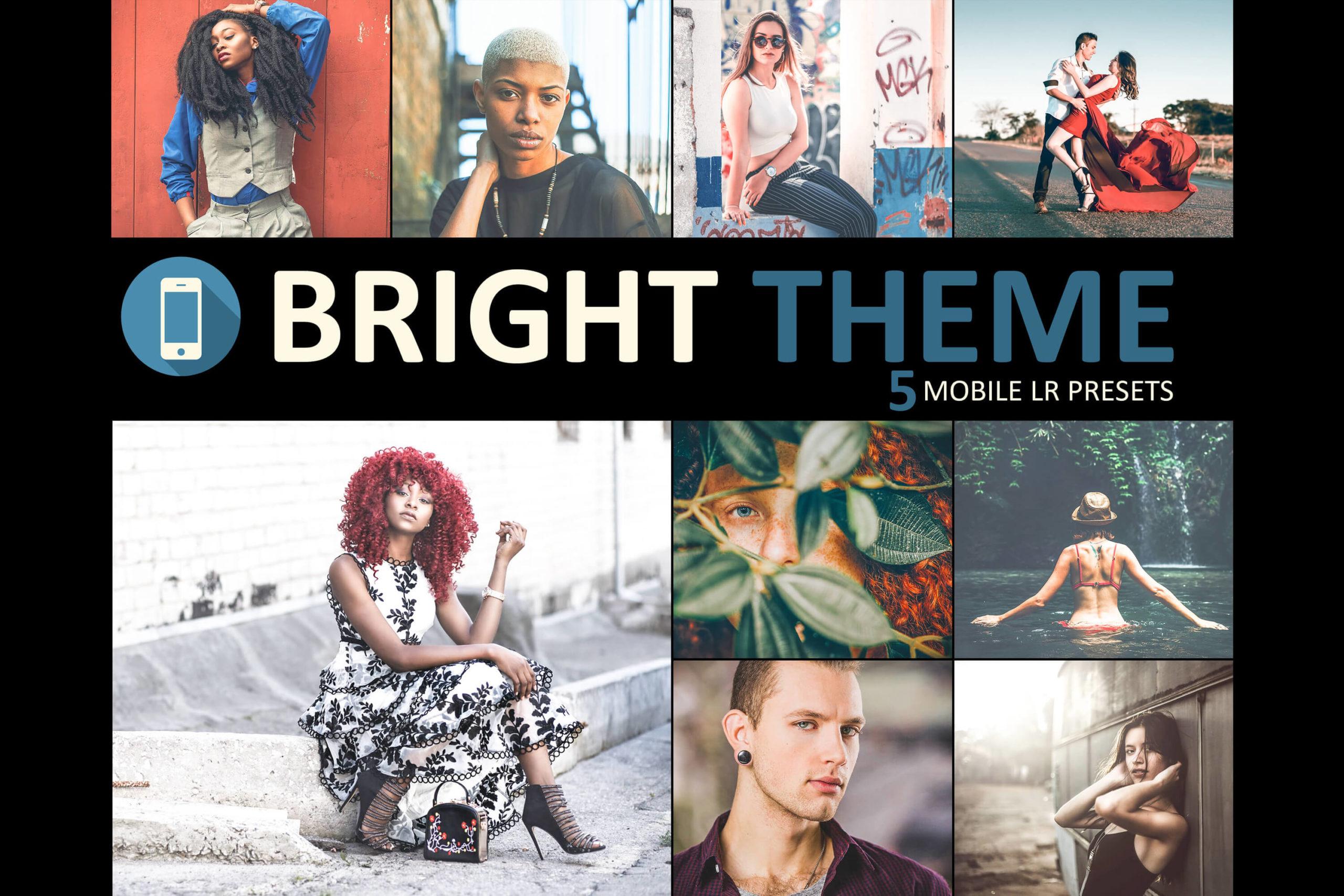 Neo Bright Theme Mobile Lightroom Presets