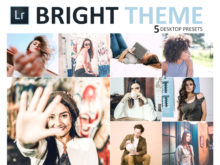 Neo Bright Theme Desktop Lightroom Presets