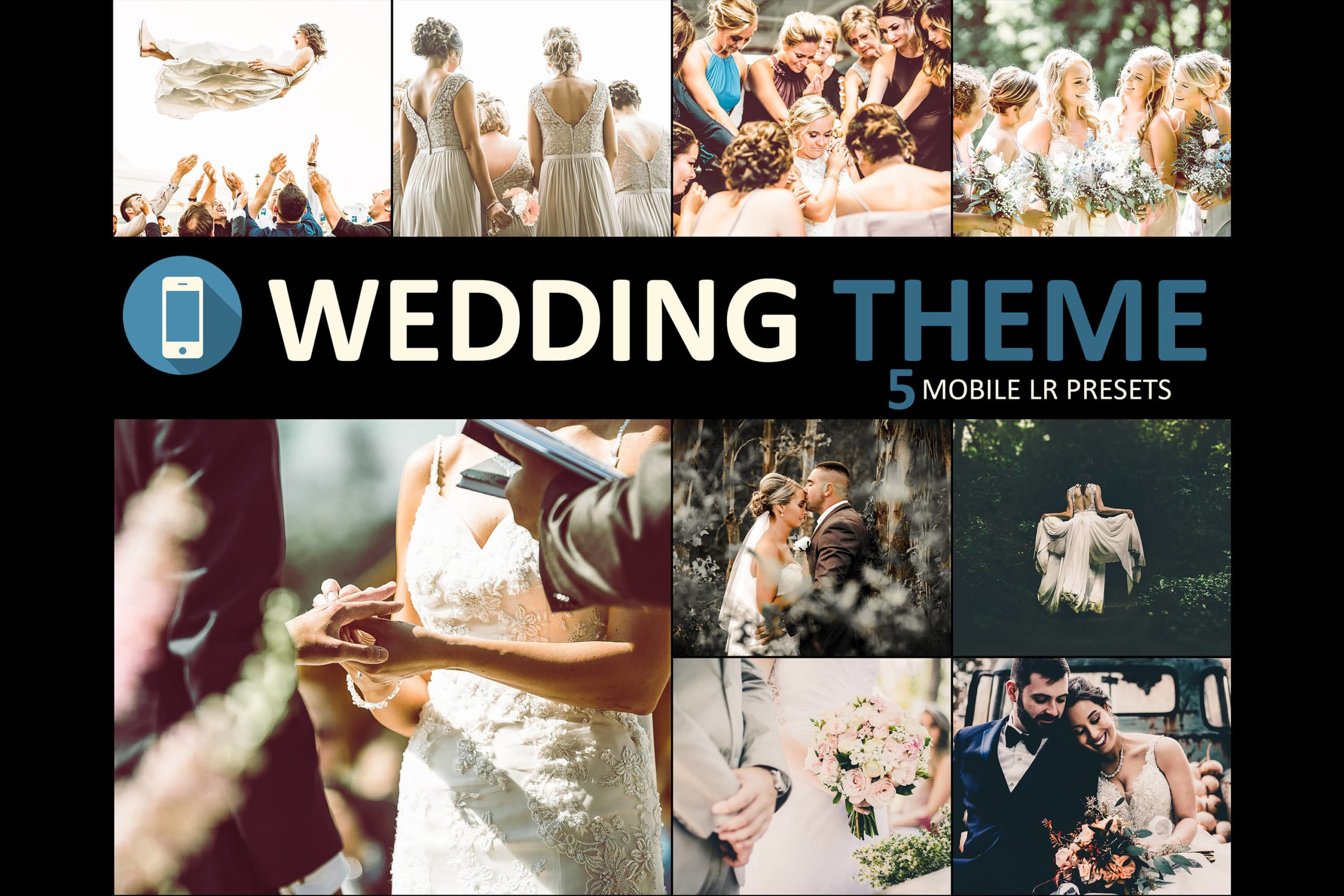 Neo Wedding Theme Mobile Lightroom Presets