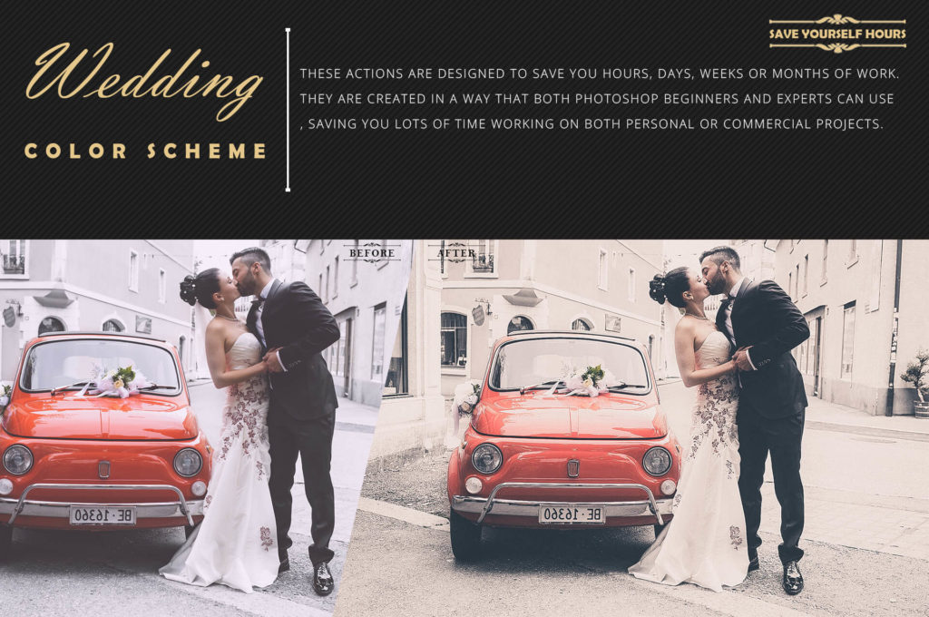 wedding photo filters photoshop