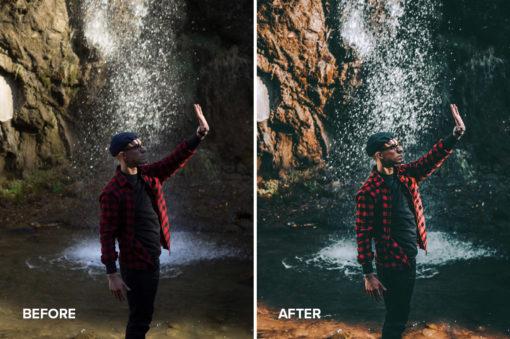 faded matte effect filtergrade