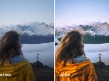 travel portrait preset