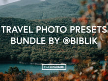 Travel Photo Presets Bundle by @biblik