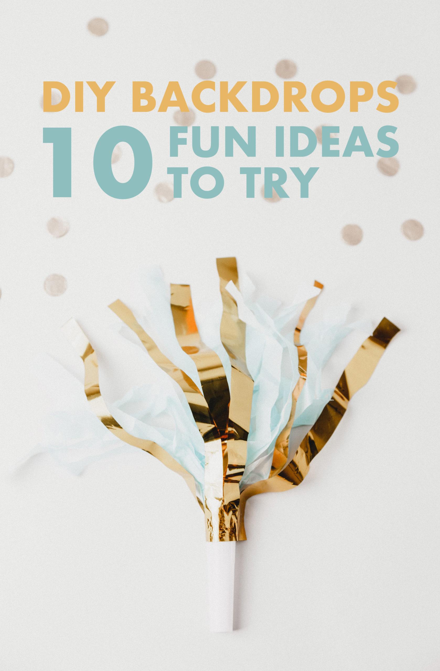 Diy Photography Backdrops 10 Fun Ideas To Try Filtergrade