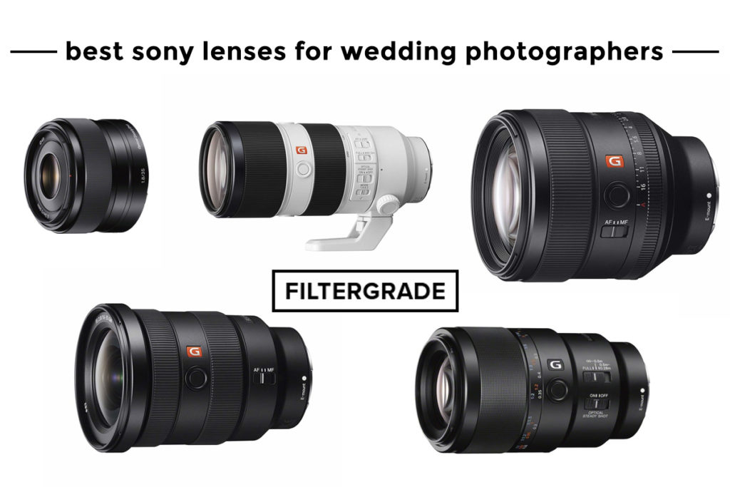 Best Sony Lenses for Wedding Photographers - FilterGrade