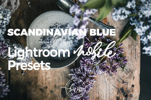 Scandinavian Blue MOBILE Lightroom Presets by black.white.vivid.