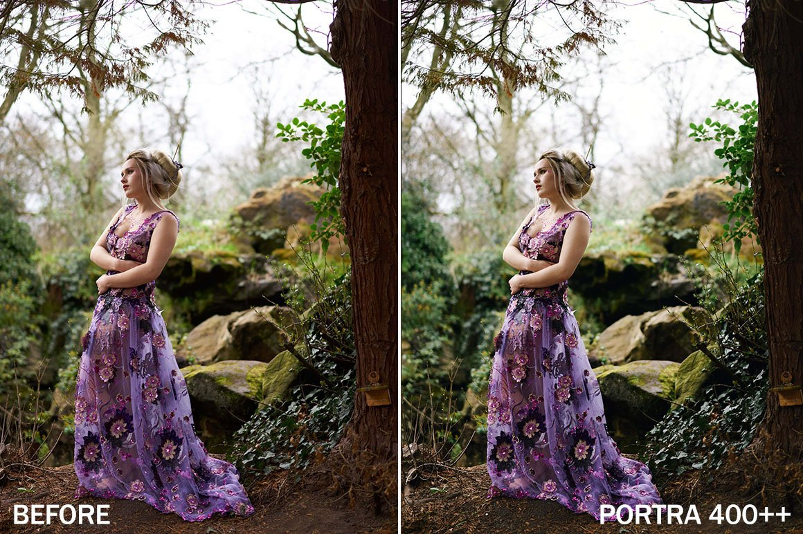 The Portra 400 Styles Pack for Capture One