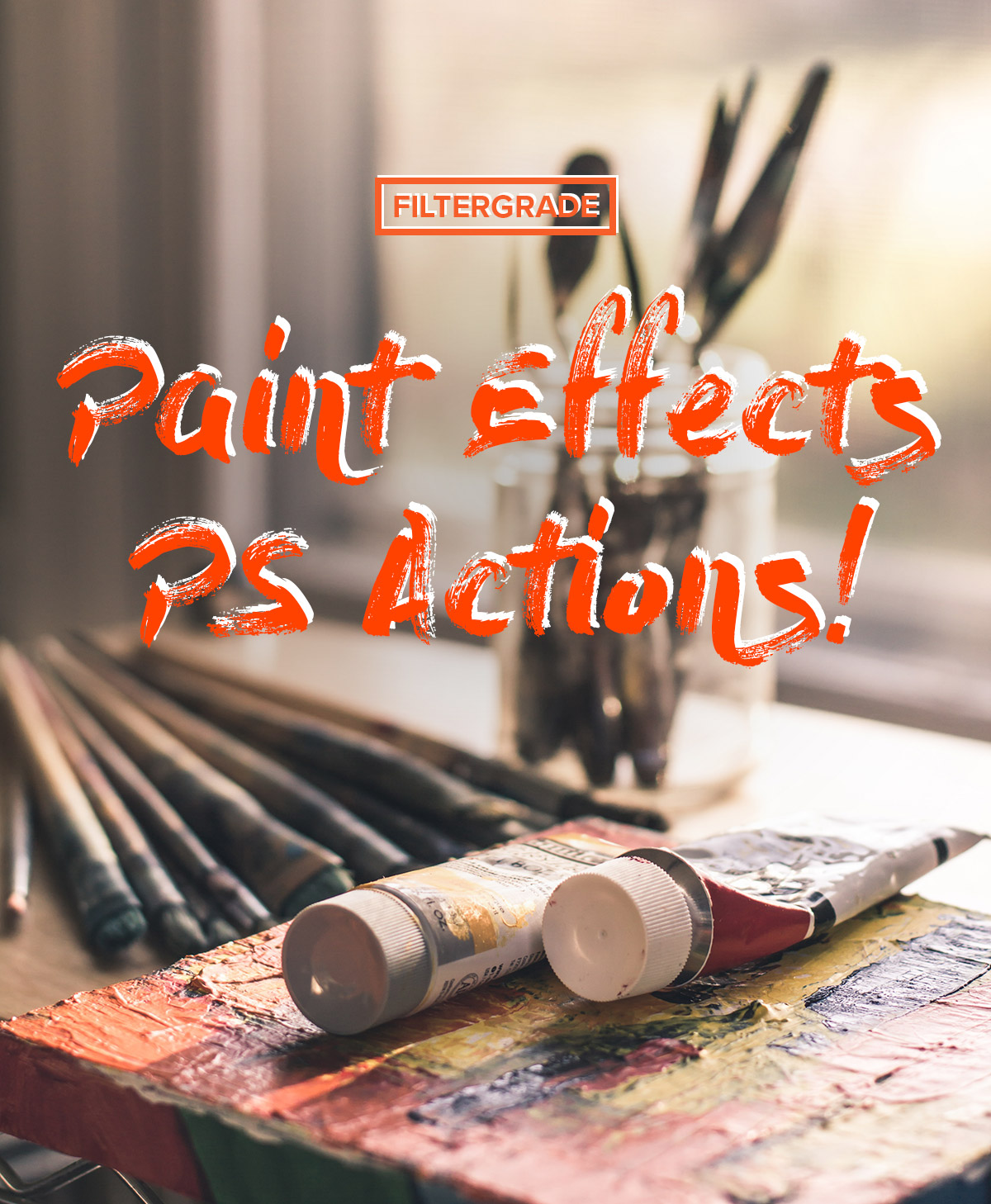 9 Fantastic Photoshop Actions for Paint Effects