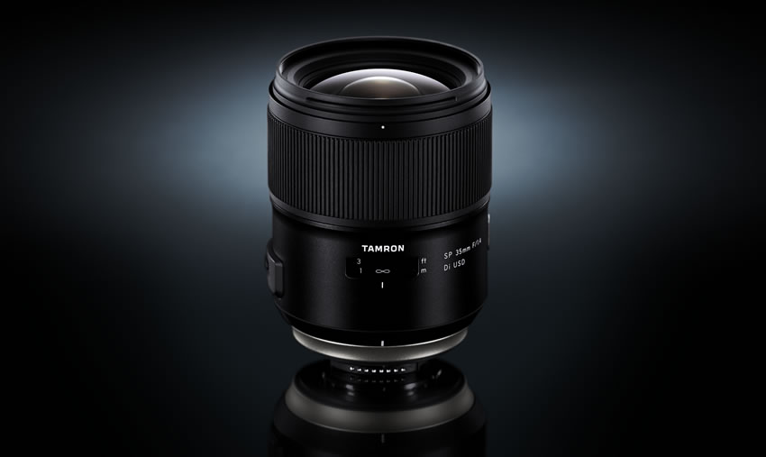 Tamron SP 35mm f/1.4 lens news