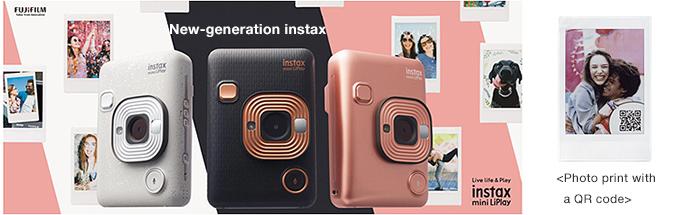 instax mini LiPlay new instant hybrid camera