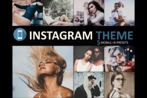 Instagram Theme Mobile Lightroom Presets