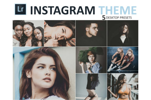 Instagram Theme Desktop Lightroom Presets