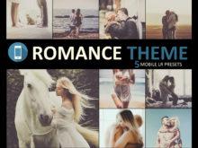 Romance Theme Mobile Lightroom Presets