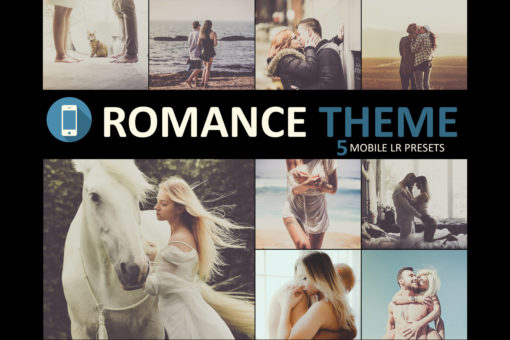 Romance Theme Mobile Lightroom Presets