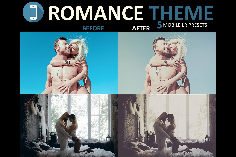 romantic love mobile filters