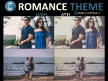 romantic mobile presets