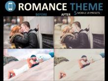 romance presets
