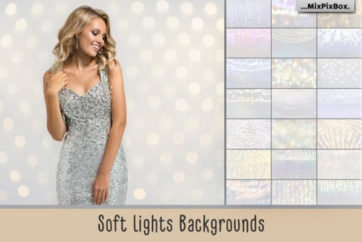 Soft Lights Backgrounds and Bokeh Effects