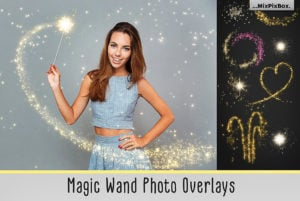 Magic Wand Photo Overlays