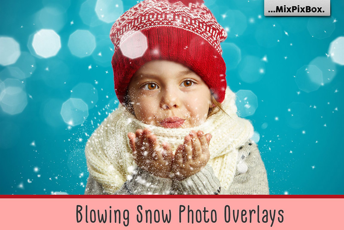 Blowing Snow Photo Overlays