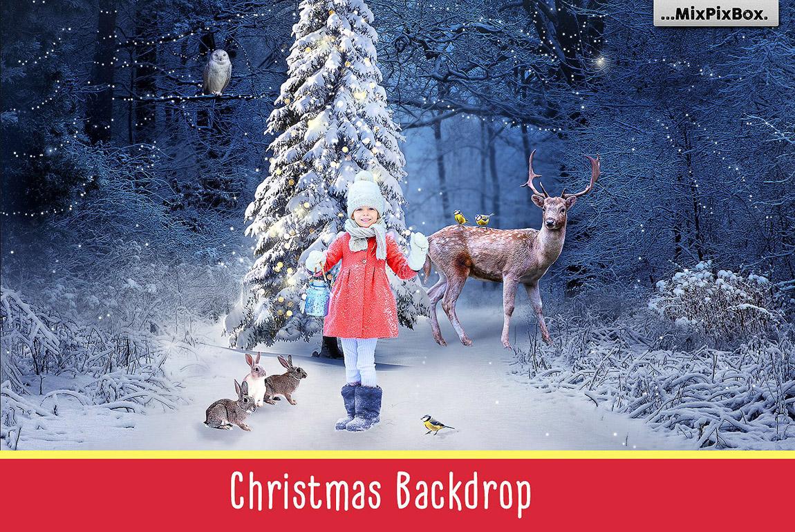 Christmas Backdrop & Scene Creator