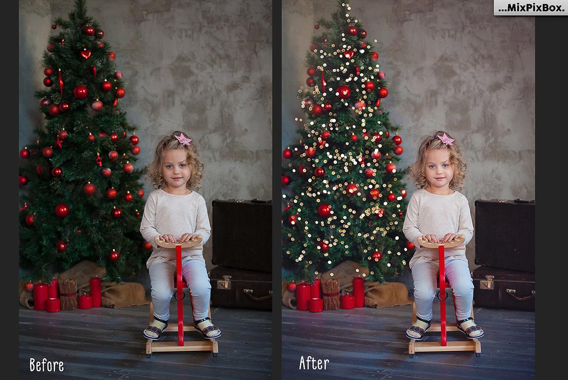 christmas trees lights overlays filtergrade christmas trees lights overlays