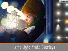 Lamp Light Photo Overlays