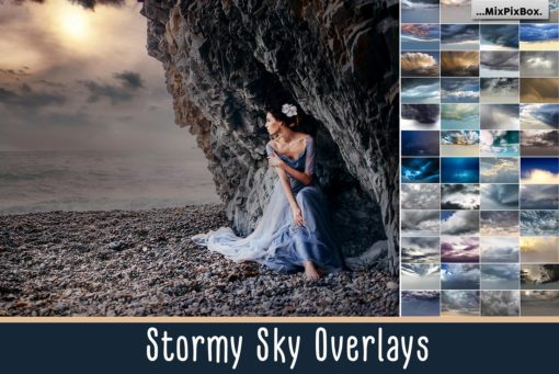 Stormy Sky Photo Overlays