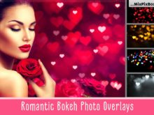 Romantic Bokeh Photo Overlays