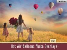 Hot Air Balloon Photo Overlays